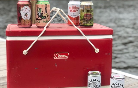 Retro Boat Rentals can provide a cooler with everything you need