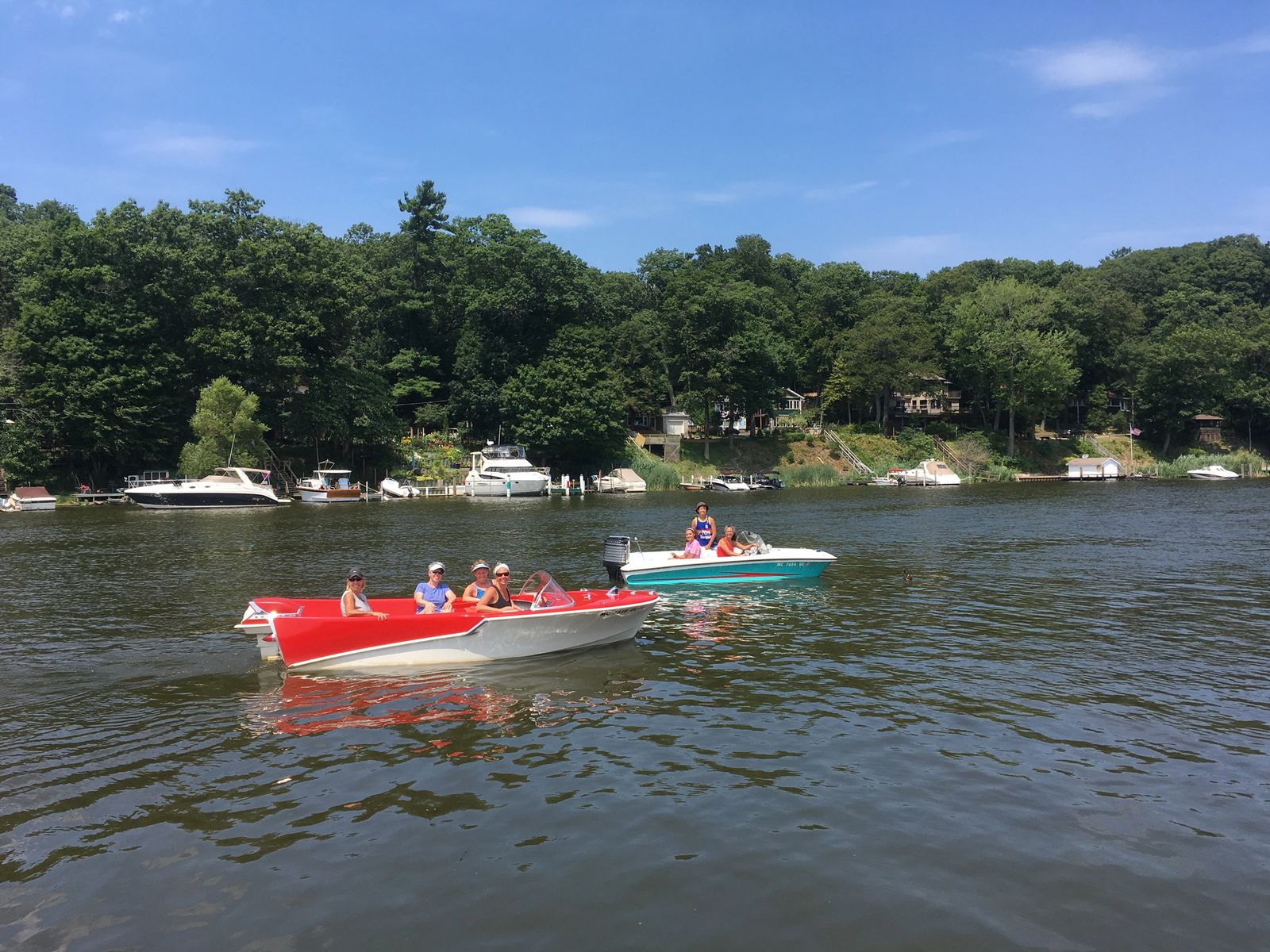 Kalamazoo River with Retro Boat Rentals