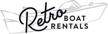 Retro Boat Rentals Retina Logo