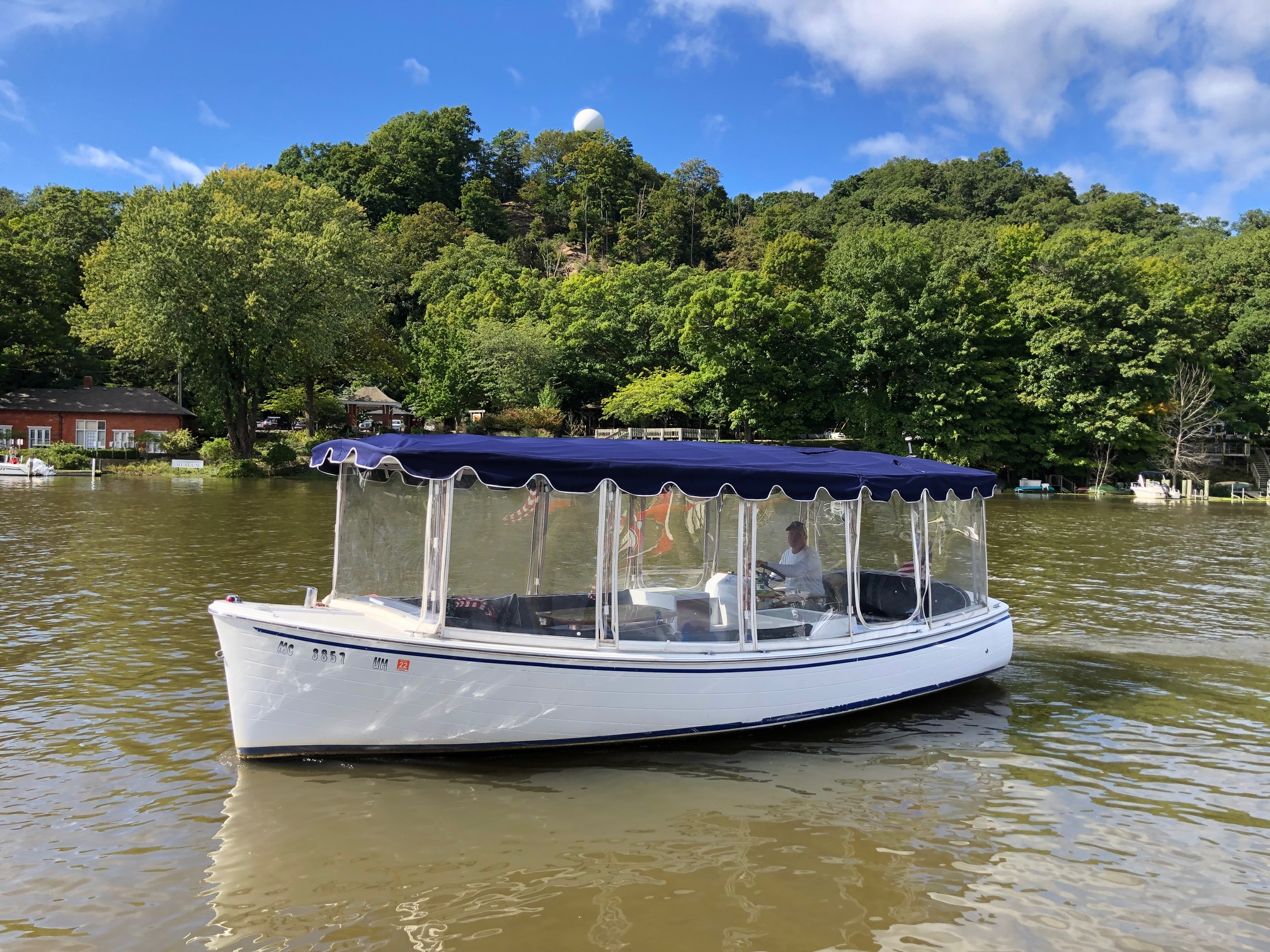 Duffy Boat on the Kalamazoo River in Saugatuck